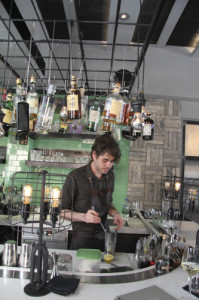 Tippling Club barman Zachary