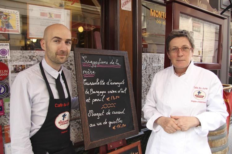 Le Bouchon du Jura, chef Brigitte