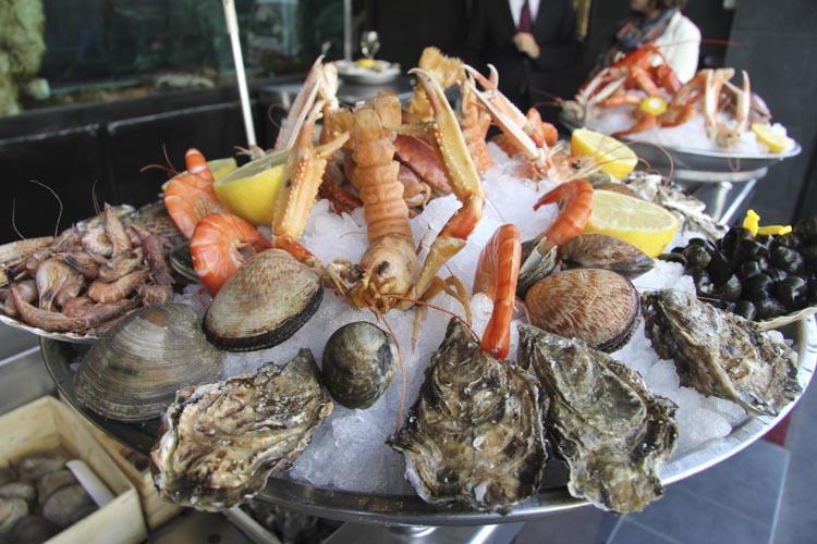brasserie plateau de fruits de mer