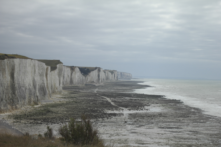 White cliffs of Ault